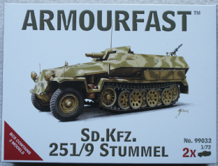 Armourfast 20mm 99032 Sd.Kfz.251/9 Ausf C